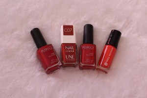 vernis rouges